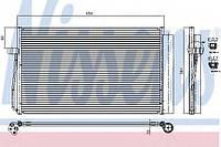 Радиатор кондиционера BMW 5 E60-E61/BMW7 E65-E66-E67-E68