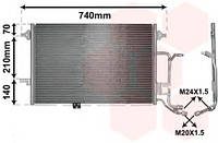 Конденсор кондиционера AUDI A6 25TDi 97-04