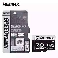 Карта памяти Micro SDHC (Микро СД) 32 GB REMAX ОРИГИНАЛ
