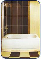 Распашная шторка на ванну 1400х700