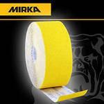 Наждачная бумага в рулоне MIRKA Mirox P80 (желтая) 115мм*50м