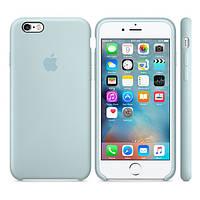 Оригинальный Силиконовый чехол Apple / Original Apple iPhone 6S Silicone case Turquoise (MLCW2) Бирюзовый