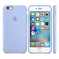 Оригинальный Силиконовый чехол Apple / Original Apple iPhone 6S Silicone case Lilac (MM682) Сиреневый