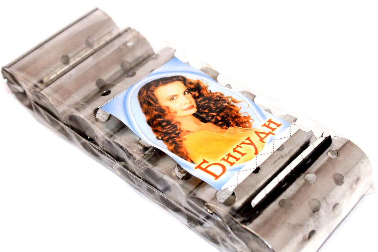 Бигуди для волос №4 (75х35mm) металлические