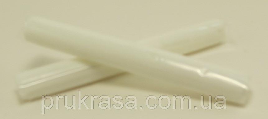"""Полимерная глина """" Пластишка """", Пластика, Запекаемая, Палочка 17 грамм, Цвет: белый флуоресцентный"""