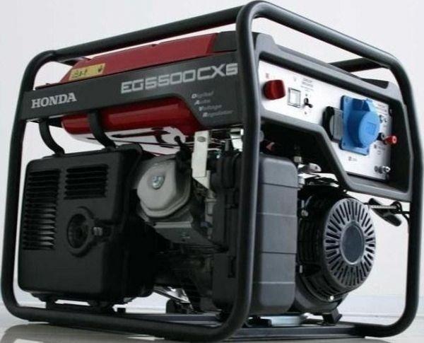 Генератор бензиновый Honda EG5500CXS 5кВт