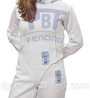 """Куртка фехтовальная FIE """"STRETCHFIT"""" (800 N) PBT для женщин, фото 1"""