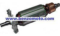 Ротор -             якорь болгарка 115-й интеркрен L=151,5мм (151,5*31,5 шпонка 8мм)