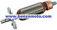 Ротор -             якорь болгарка 115-й интеркрен L=156 мм (156*32 8 мм)
