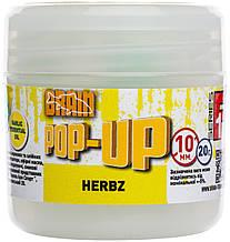 Бойлы Brain Pop-Up F1 HERBZ (мята с чесноком) 10 mm 20 gr