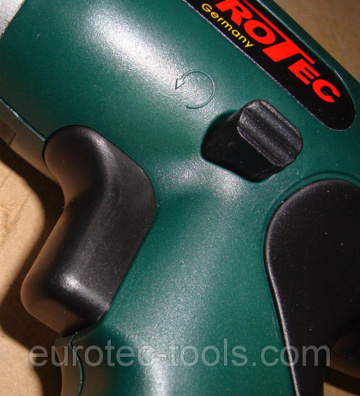 Аккумуляторный шуруповёрт 12 В Eurotec CD 222, кнопка с переключателем реверса