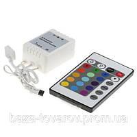 LED контроллер с пультом управления светодиодными RGB лентами