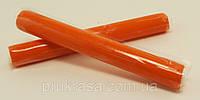 """Полимерная глина """" Пластишка """", Пластика, Запекаемая, Палочка 17 грамм, Цвет: оранжевый"""