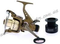 Катушка с бейтраннером Kaida KW-6000, катушка для спиннинга, катушка рыболовная с системой бейтранер