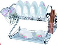 Сушилка 2ух ярус. (440*260*115)мм, кухонная посуда