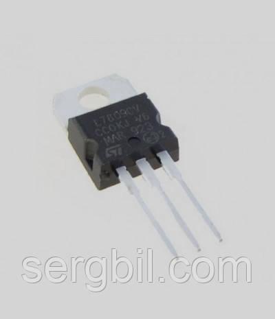 Микросхема 7809  TO220- линейный стабилизатор 9В, 1А