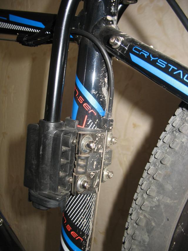 Как крепится велокресло