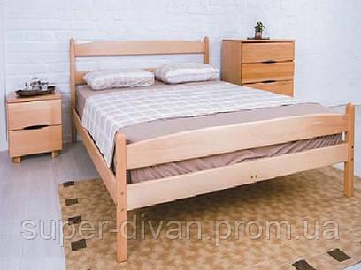 Кровать  Ликерия (Бук) 0,8 с изножьем
