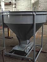 Бадья под раствор 1 м.куб KARMEL, фото 1