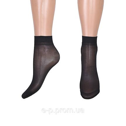 Носки «Ласточка» бамбук 30 den Чёрный (C232/BL) | 10 пар, фото 2