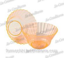 Помаранчева пластикова креманка «Ondulina» 345 (250 мл)