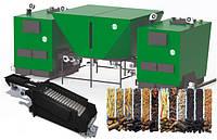 """Котел на биомассе """"Gefest-Profi A""""  комплекс 2000 кВт (1000+1000), подвижные колосники, золоудаление, бункер"""