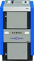 Пиролизный котел Atmos DС 15 E  (15 кВт, без вентилятора, с теплообменником)