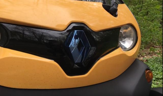 "Обзор ""электромобиля"" Renault Twizzy"