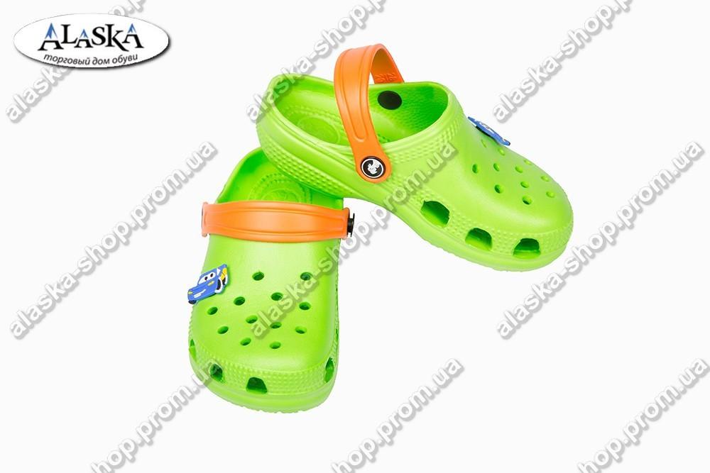 Детские кроксы зеленые (Код: Дет кроксы JA)
