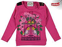 Нарядная детская кофта реглан туника для девочек весна-осень5, 6, 8 лет. Турция!!!