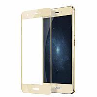 Скло Huawei P8 Lite 2017 Full золоте