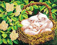 Схема для вышивки бисером на натуральном художественном холсте Сиеста