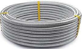 Гофрированная труба 20 Lavita из нержавеющей стали, нержавеющая сталь, гофра, гофротруба