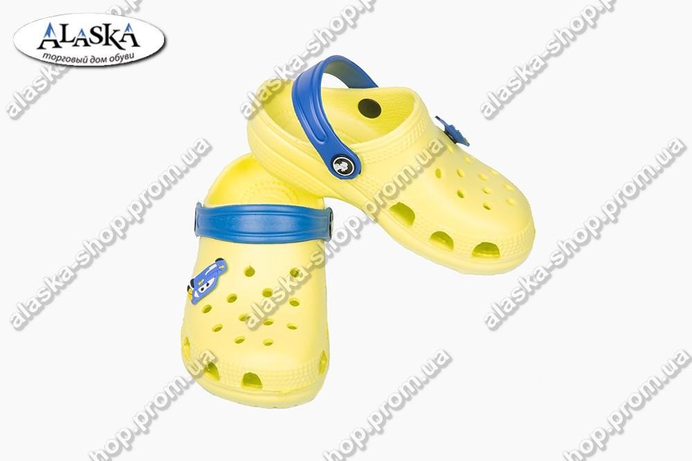Детские кроксы желтые (Код: Кроксы JA)