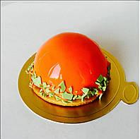 Пирожные под заказ  мандарин-апельсин