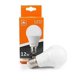 Лампа светодиодная 12вт Е27 4200К, фото 2