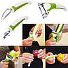 Triple Slicer - набір універсальних ножів для фігурної нарізки овочів і фруктів (Тріпл Слайсер)