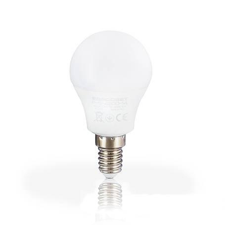 Лампа светодиодная шар 5вт Е14 4200К, фото 2