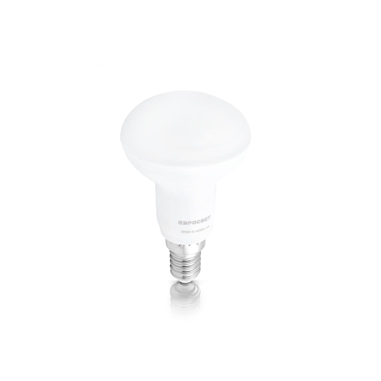 Лампа светодиодная R50 5вт Е14 4200К