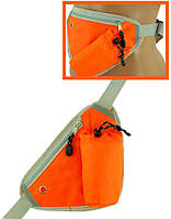 Сумка на плече или пояс из нейлона Traum 7019-11, оранжевый