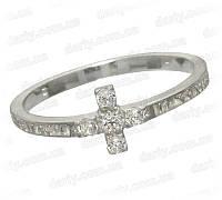Серебряное охранное кольцо 1025к.