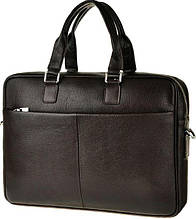 """Кожаная сумка для ноутбука 15"""" Tiding Bag M2164C коричневая"""