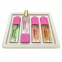 Феромоны Chanel 4 по 15 мл ( Fraiche + Tendre + Vive + Parfum )
