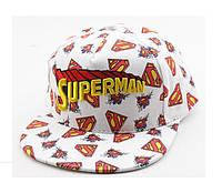 Кепка-реперка супермен.