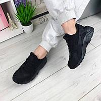 Кроссовки женские черные реплика Nike Huarache ( хуарачи)