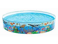 Бассейн детский каркасный «Подводный мир» Intex 58472 (244*46 см)
