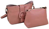 Женская кожаная сумка Alex Rai Две в одной