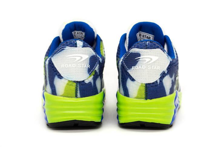 Кроссовки женские RoadStar Blue/Green 39, фото 2