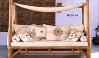 Диван-шатёр бамбуковый BA_152. Садовая мебель. Сделано в Индии.
