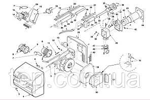 Запасные части к горелке Riello RS